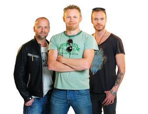 Från vänster: Anders Erlandsson, Patrik Zackrisson och Fredrik Magnusson.