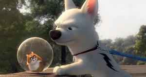 """Hamstern Roffe. Bolts vapendragare har förutsättningar att bli en Disneyikon i stil med Doris i """"Hitta Nemo"""" och anden i """"Aladdin""""."""
