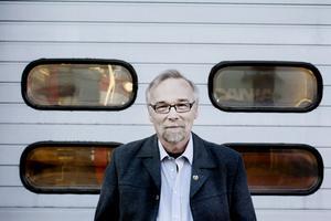 Peter Bergh, ordförande i Brandmännens riksförbund. Foto: Catharina Hugosson/Arkivbild.
