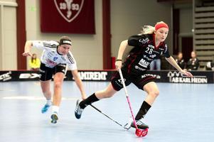 Petra Hansson var enligt IBF-tränaren Peter Hinders planens gigant när Falun besegrade Jönköping med 7–6.