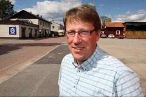 """""""Det känns som storebrorsfasoner över det hela"""", säger Anders Häggqvist som upprör sig över Fortums planerade flytt och att det finns planer på att ta bort bygdemedlen i nuvarande form.Foto: Håkan Degselius"""