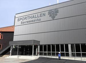 1 700 åskådare är maxkapaciteten i nya Sporthallen.