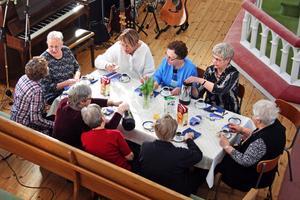 Ett trettiotal kvinnor kom till Metodistkyrkan i Laxå för att äta frukost och lyssna på föredrag i lördags.