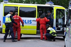 Arkivbild från 2010: Aktivister från miljöorganisationen Greenpeace tog sig in på kärnkraftverket i Forsmark. Minst 50 aktivister greps.