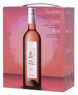 Puycheric Syrah Rosé, en saftig rosé för oväntat besök.