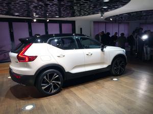 Nya Volvo XC40 får en rejäl skattehöjning nästa år när Bonus malus införs.