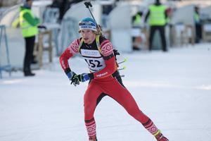 Peppe Femling körde in på en femte plats i masstarten i Östersund som hade SM status.