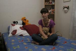 Lena Glebova tänka sig att flytta till Sverige, någon gång i framtiden. Just nu studerar hon turism.