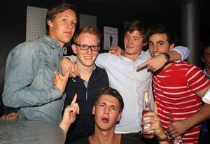 Silk. Simon, Mattias, Rasmus, Aron och Lars
