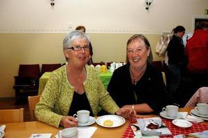 NÖDJA. Elsie-Britt Eriksson och ordförande Elisabeth Hemmingsson från byarådet är glada över uppslutningen.