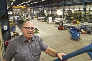 Tommy Hillborn är VD Brynäs Mekano och får samma position i det nya företaget Bristatrappan.– Avdelningschefen i Sundsvall följer med till Gävle och blir platsansvarig, säger Tommy Gillborn.