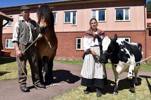 Stor Lars Olsson och Marita Nämnd gav fäboddagen rätt känsla.