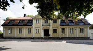 Kyrkoherdens bostad på Kyrkogatan.