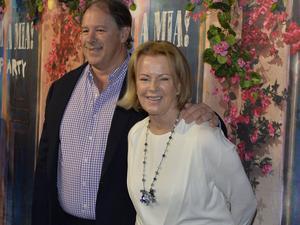 Anni-Frid Lyngstad och Henry Smith.   Foto: Anders Wiklund/TT
