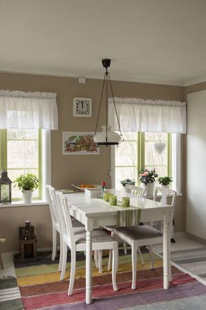 – Det är en speciell och lugn atmosfär i huset, säger Marie.