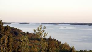 Himmerfjärden väster om Sorunda.