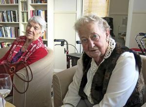 Britta Malmström och Inga Britt Lagnemyr är nöjda med slutresultatet.