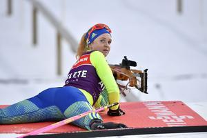 Mona Brorsson var bäst på dagens distanstävling i skidskytte-VM i Hochfilzen, Österrike. Hon slutade på plats 44.