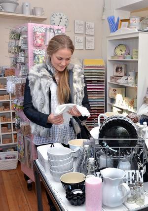 Också Sandra Sundberg från Enköping besöker Forsnäsgården för första gången.