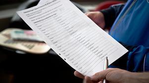 Namninsamlingslistan för att få till en folkomröstning om Älgbostad.
