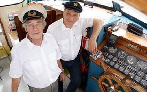Per Ahlzén och Kent Börjesson är nya kaptener på Lisskulla III. FOTO: ANGELICA LINDVALL
