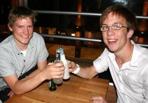 Rock och K Baren. Tobias och Koffe