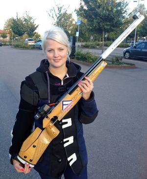 Madeleine Mattsson, Lima, näst bäst i Sverige i en OS-gren.