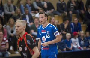 John Jonsson, lagkapten och forward i Hudik/Björkberg.