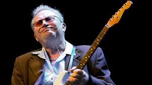 Sven Zetterberg  sågs som en av Sveriges främsta bluesartister innan han avled i slutet av 2016. Arkivfoto: Mats Andersson