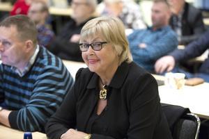 Ann-Christin Anderberg (BOP) var en av dem som framförde ett