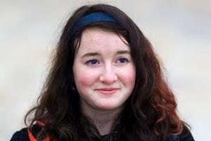 Elvina Ejstes, 15 år, Östersund.– Jag är mörkrädd och så är jag rädd för spindlar. Ju mindre de är desto läskigare.