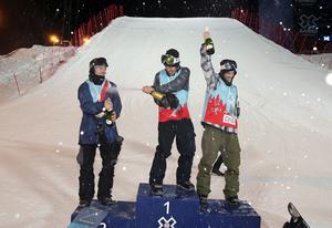 Sven Thorgren hade ett brons i X-games sedan tidigare. På fredagen tog han hem guldet.