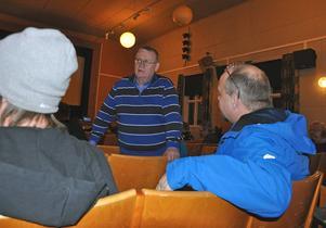 Gunnar Hedin fick en klar bild över lokalbefolkningens åsikter om att skapa ett skoterregleringsområde.