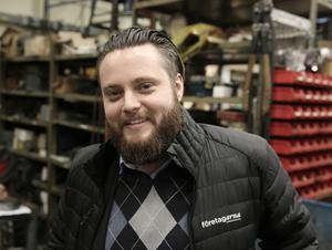 Krögaren och numera även ölbryggaren Fredrik Remes är sedan i mars i år Barkenföretagens ordförande.