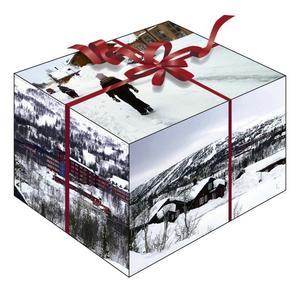 Den ultimata julklappen – kontrollen över en hel fjällby.  Pris: 365 miljoner kronor.  illustration: kjell nilsson-mäki