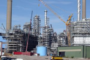 Preemraff raffinaderi  i Lysekil.