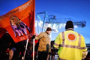 Hamnarbetarförbundet i strejk i Göteborgs hamn