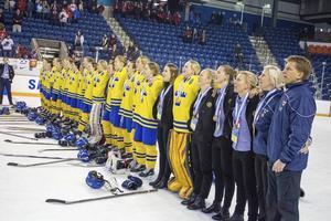 Damkronorna U18 tog en bronsmedalj i VM.