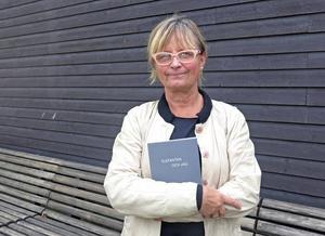 Marie Bondeson är nu klar med sin konstbok om Gävleborgs psykosvård.