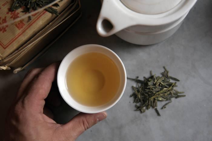 Grönt te giftigt