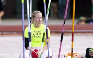 Medaljhopp. Sofi Flinck är favorittippad att ta hem spjutguldet i junior-SM i Sollentuna.FOTO: ARKIV PER G NORÉN