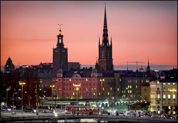 Våra drömmars stad. Västmanlands politiker vill gärna bilda region tillsammans med Stockholm.foto: scanpix