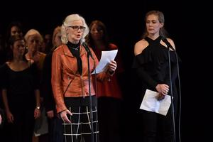 Marika Lagercrantz och Eva Röse.Foto: Jonas Ekströmer/TT