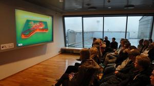 Under besöket på Island hade partnerskolan planerat besök på olika företag, bland annat på energibolaget Hellisheiðarvirkjun.