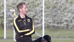 Arbogas tränare Mikael Wiker. Foto: David Eriksson