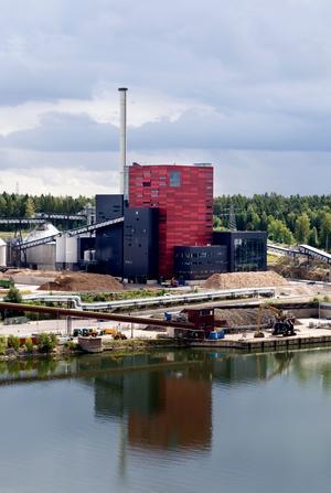 Elproduktion baserad på biomassa, som vid Igelstaverket, har vuxit kraftigt under de senaste åren.