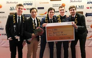 UF-företaget Naifu från Brinellskolan i Fagersta tog hem förstapriset i kategorin Årets hantverk på SM i Ung företagsamhet.