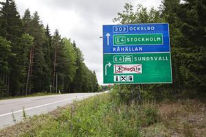 Skylten som upprör Hakkegårds Ulf Nilsson.