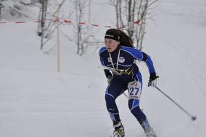 Evelina Wickbom tog guld i damer 20.