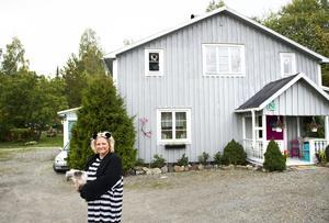 Annika Frank Hemma hos i Gussjö väster om Härnösand